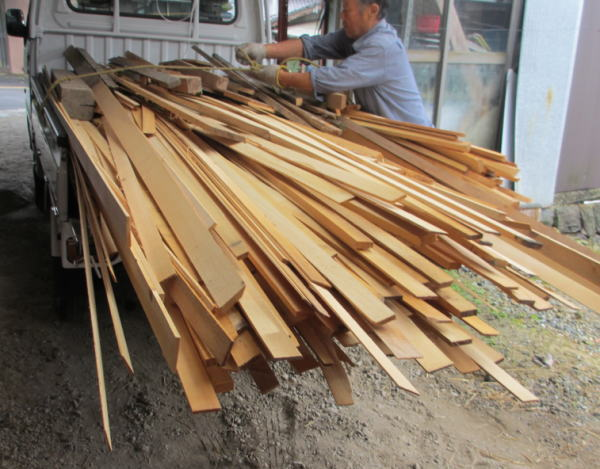 木くず240キロ