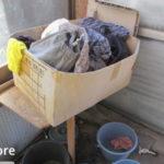 お義母さんのばっちい洗濯場とゴミの分別コーナーを片付ける