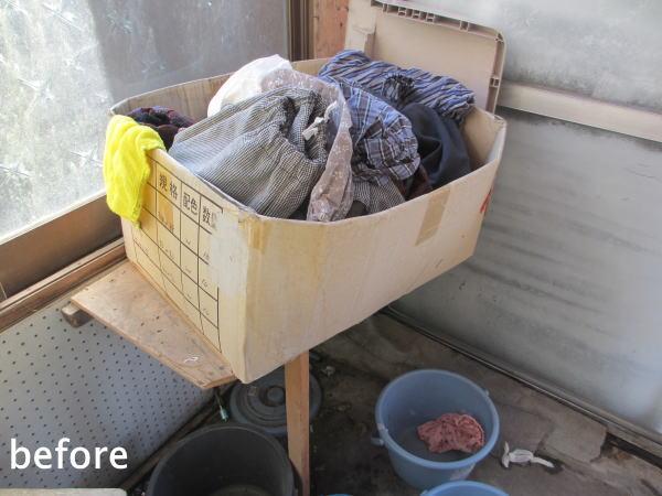 義母の洗濯場