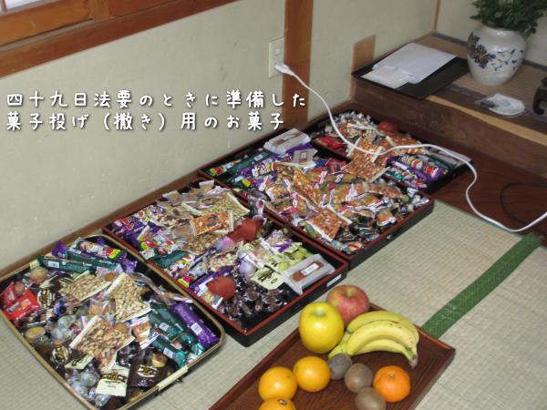四十九日法要 菓子