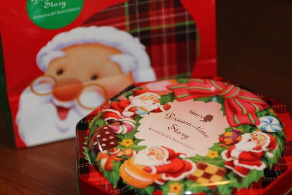 クリスマスのメリーチョコ