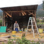 畑の小屋を解体する(その3)