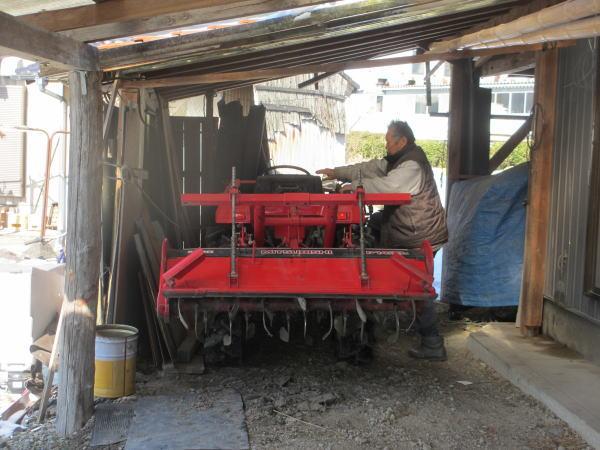 三菱MT18 4WD 三菱ディーゼルトラクター耕運機