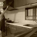 台所のお片付けビフォーアフター写真
