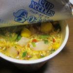 カップヌードル世界の総選挙第1位の香辣海鮮味(しゃんらーかいせん味)を食べてみた