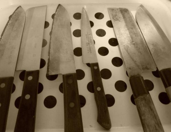 包丁ナイフ6本
