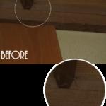 家庭訪問にむけて壁や天井の蜘蛛の巣&ホコリ取り