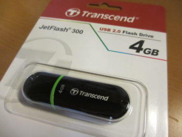 Transcend USBメモリ 4GB