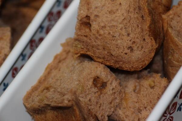 チョコとココアとくるみのパン