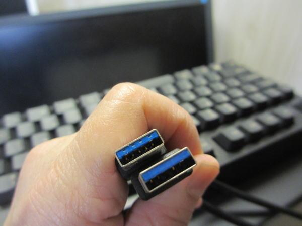 USB3.0 青い