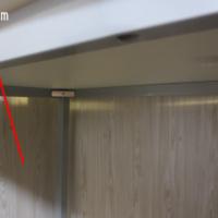 パソコンデスク 160cm幅 奥行70cm シンプルなホワイト天板