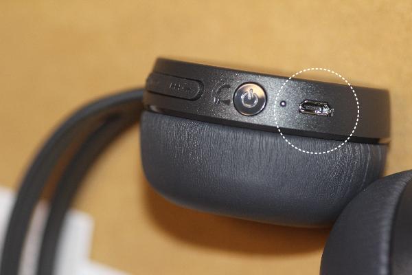 ワイヤレスヘッドフォン充電の仕方
