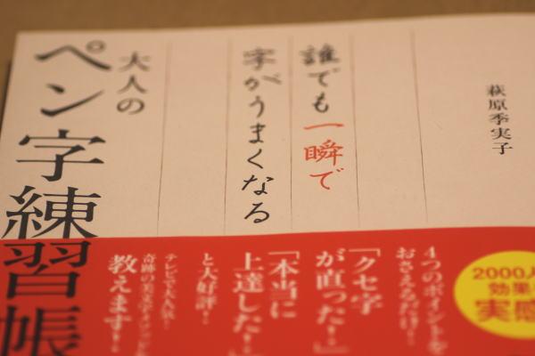 誰でも一瞬で字がうまくなる大人のペン字練習帳