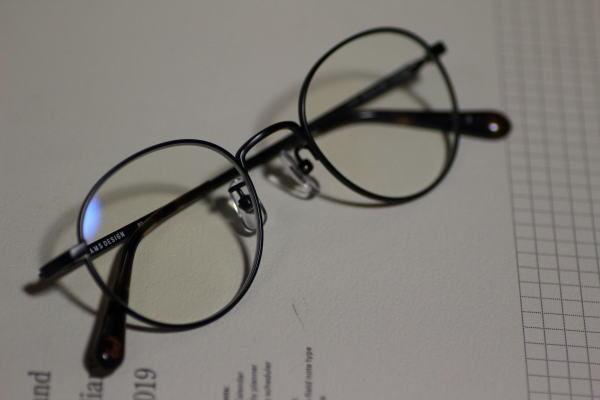 新しいメガネ