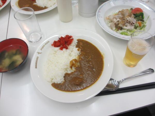 長良川スポーツプラザ夕食