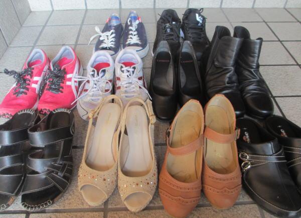 靴を断捨離