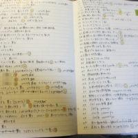 手帳に書くこと
