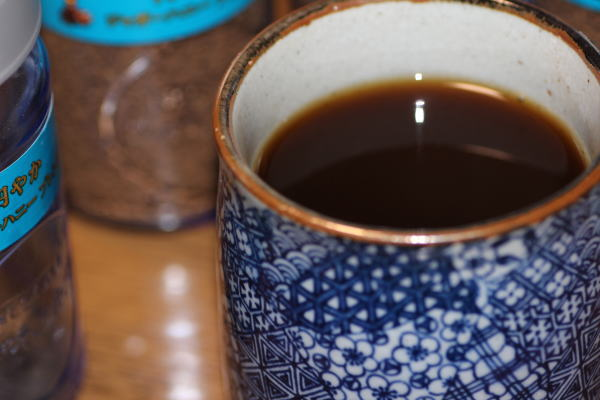美濃焼のコーヒーカップ