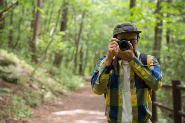 カメラを持って山へ行く