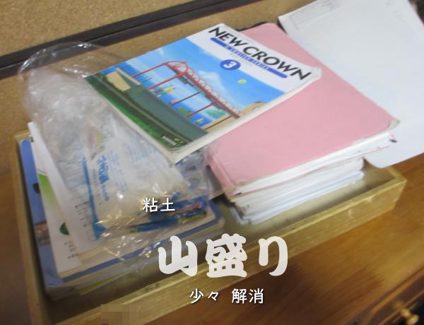 山盛りの教科書