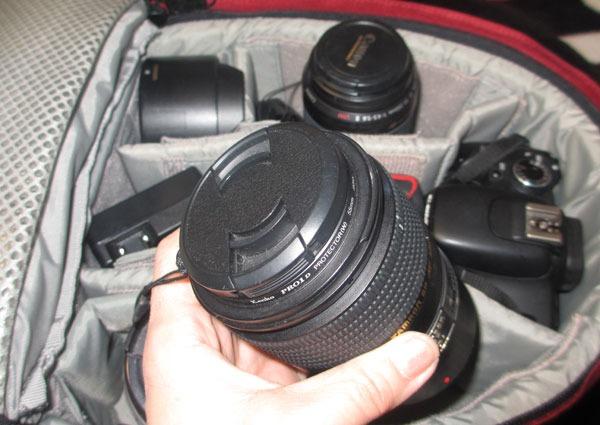 カメラリュック Lowepro