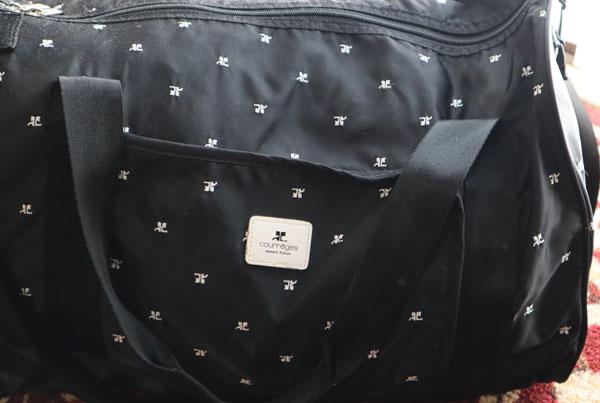 災害、入院時用のバッグ