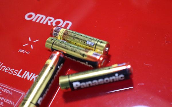 電池をはずして捨てる