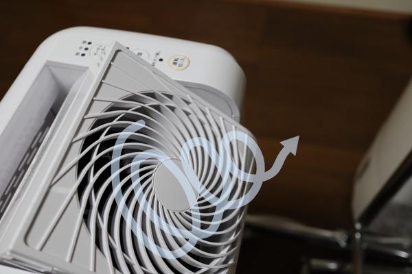 アイリスオーヤマサーキュレーター衣類乾燥除湿機