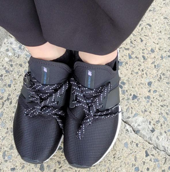 スカスカすると思ったら靴紐縛ってなかった